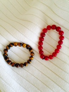 Tiger's Eye and Red Carnelian
