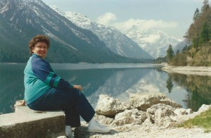 My late grandmother touring scenic locales of The Sound of Music