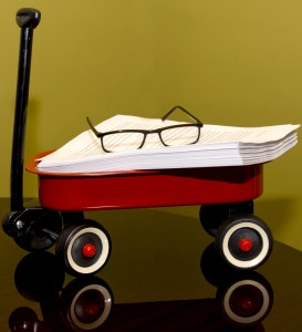 The first draft of Little Red Wagon
