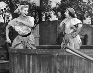 Classic comedy from I Love Lucy