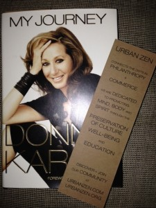 Donna Karan's two latest projects: her memoir and Urban Zen.