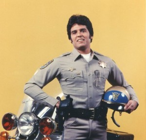 Actor Erik Estrada starred in TV's popular CHiPs back in the 70s.