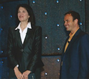 Introducing film industry trailblazer Sherry Lansing at the last corporate conference I produced.